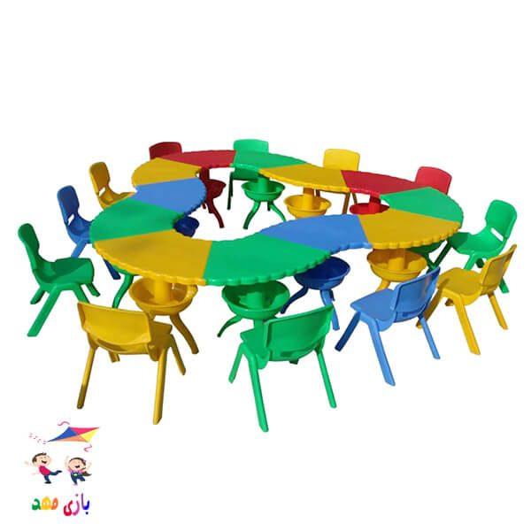 میز هشت