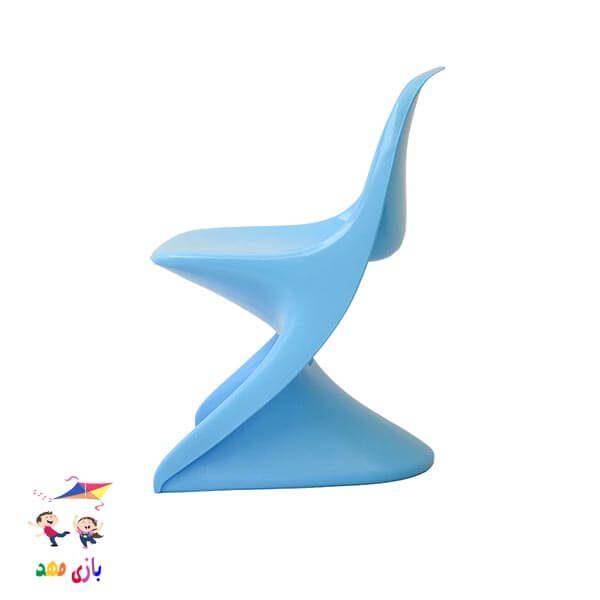 صندلی رامو آبی از بغل
