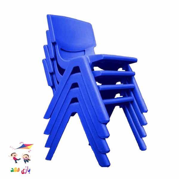صندلی لبخند آبی