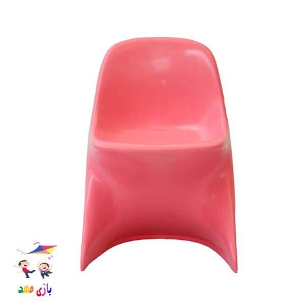 صندلی رامو صورتی از رو به رو