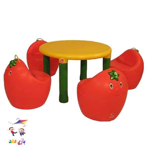 میز و صندلی چیکو